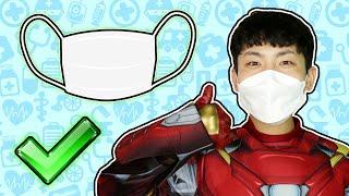 슈퍼히어로 아이언맨의 바른생활 놀이!!! Superheroes Iron Man Moning Routine Kids Pretend Play - 마슈토이 Mashu ToysReview