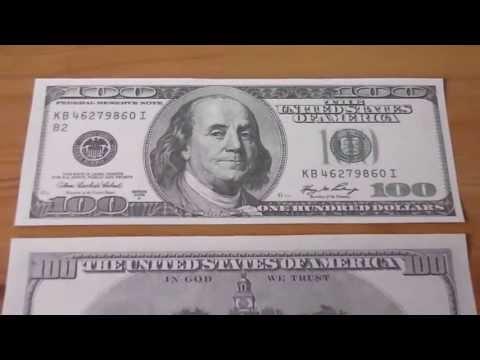 Wer war Benjamin Franklin ? - Der 100 US-Dollar Schein