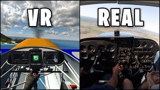 Flying a REAL Plane in VR?