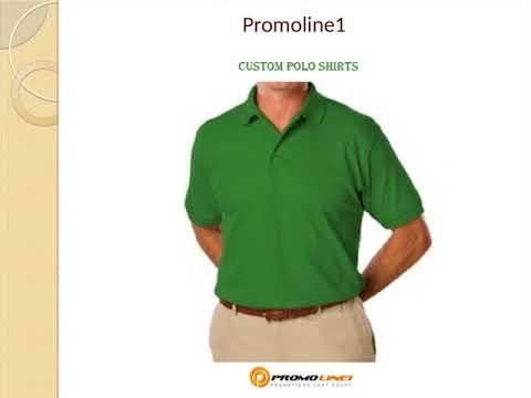 Custom Polo Shirts Business Polo Shirt Printing Promoline1 Youtube