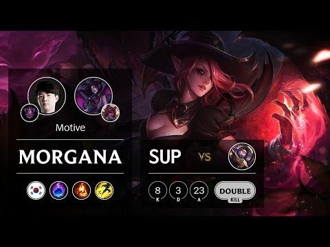 Morgana Support vs Blitzcrank - KR Master Patch 9.22