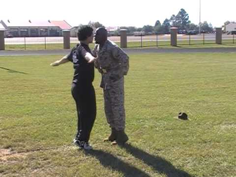 Chubby Kids Meets Marine Corps Drill Instructor