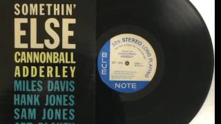 Cannonball Adderley Somethin Else BST 1595 Autumn Leaves Love For Sale