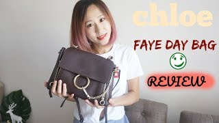 【JENNY】CHLOE DAY FAYE BAG REVIEW |  what's in my bag | 包包测评