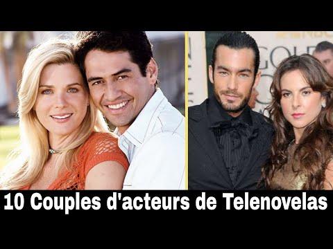 10 Couples d'acteurs de Telenovelas dans la vraie vie !