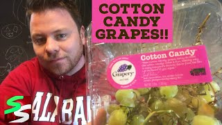 Cotton Candy Grapes Food Review