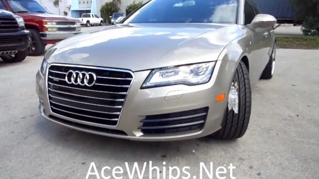 Wtw Customs 2012 Audi A7 Supercharged On 22 Quot Forgiatos