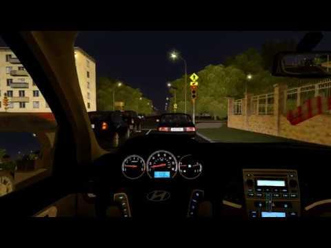 City Car Driving - Hyundai SantaFe Night + Download Link