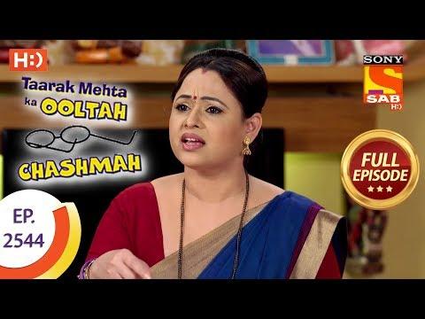 Taarak Mehta Ka Ooltah Chashmah – Ep 2544 – Full Episode – 30th August, 2018