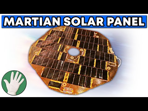 Martian Solar Panel - Objectivity #3