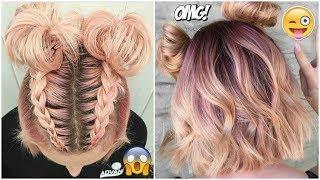 PEINADOS TUMBLR FÁCILES PARA CABELLO CORTO 2019 #1 cute hairstyles