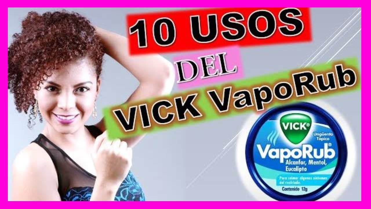 erección con tratamiento vicks vaporub