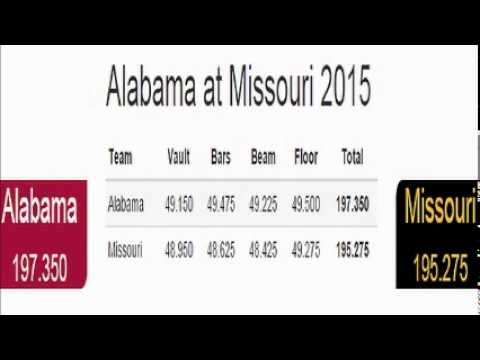 Radio Replay: 2015 Alabama at Missouri
