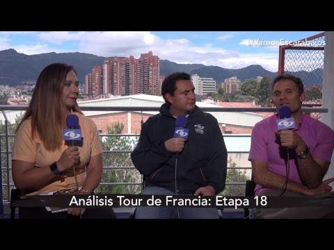 El análisis de la etapa 18 del Tour de Francia con 'Goga' Ruiz y Santiago Botero  Noticias Caracol