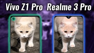 Vivo Z1 Pro vs Realme 3 Pro Camera Test - More Cameras, Less Quality?