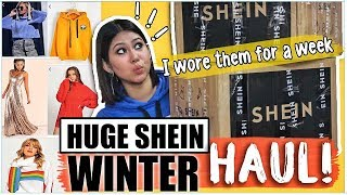 I WORE OUTFITS FROM SHEIN FOR A WEEK! ThatQuirkyMiss