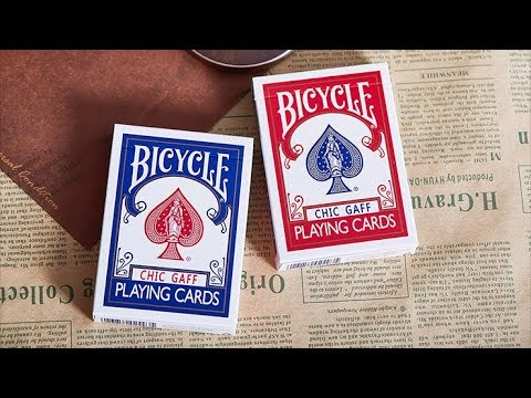 Bicycle Chic Gaff Playing Cards by Bocopo - Gaff Cards