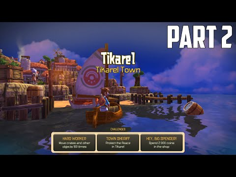 Oceanhorn: Monster Of Uncharted Seas - 100% Walkthrough Part 2 [PS4] – Tikarel