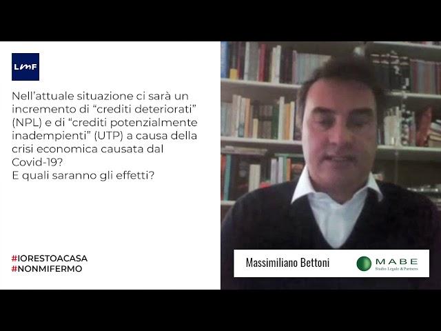 il mercato degli NPL - Massimiliano Bettoni (MaBe&Partners)