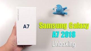 Mở hộp Samsung Galaxy A7 2018 đầu tiên tại Việt Nam: Hơi hụt hẫng ... !