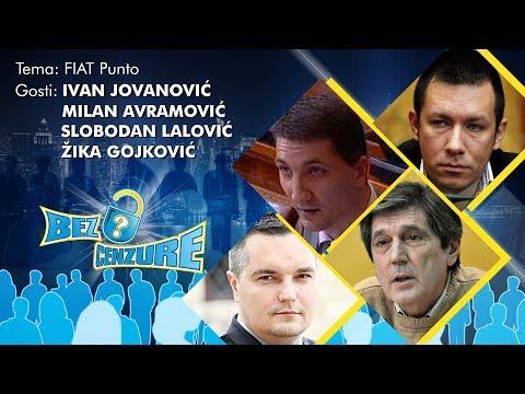BEZ CENZURE: FIAT Punto - Ivan Jovanović, Milan Avramović, Slobodan Lalović i Žika Gojković