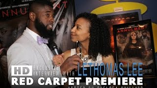 Creative Genius Films presents: LeThomas Lee Red Carpet Interview