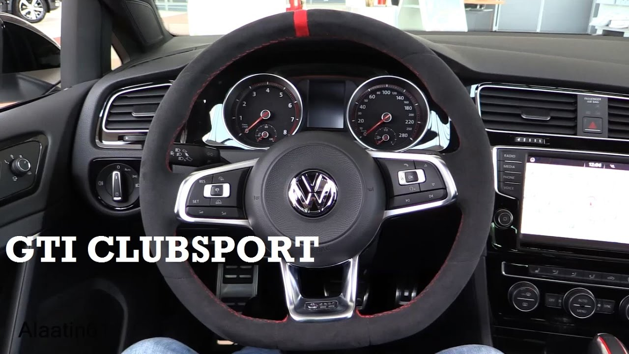 2017 volkswagen golf 7 gti clubsport interior review. Black Bedroom Furniture Sets. Home Design Ideas