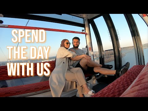 SPEND THE DAY WITH US * EMIRATES CABLE CAR * LONDON VLOG