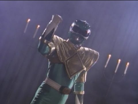 Green Ranger's First Scene (Mighty Morphin Power Rangers)