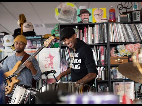 Jonathan Scales Fourchestra: NPR Music Tiny Desk Concert