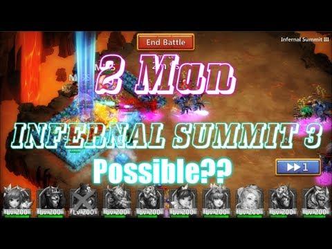 2 MAN INFERNAL SUMMIT 3 POSSIBLE? Castle Clash