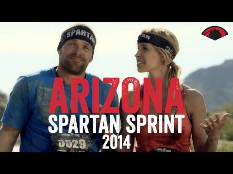 Spartan Race Arizona Sprint 2014  VIDEO