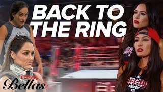 The Bella Twins' Road Back to The Ring | Total Bellas | E!