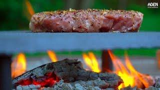 Spicy Sichuan Pork Neck - Campfire Food