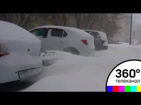Апрельский снегопад: Киров утонул в сугробах - МТ