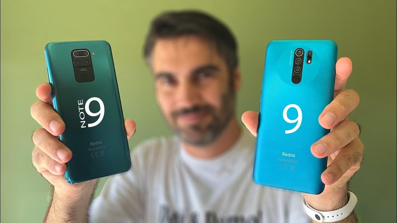 Xiaomi Redmi 9 vs Redmi Note 9 | review comparativa en español