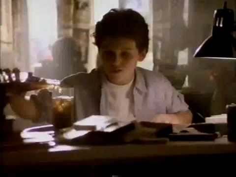 Fred Savage & Olivia Burnette 1990 Pepsi Love Letter Commercial