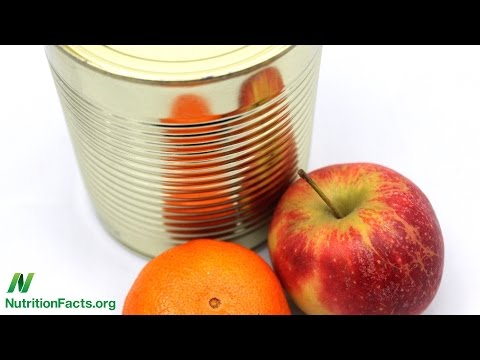 Is Canned Fruit as Healthy?