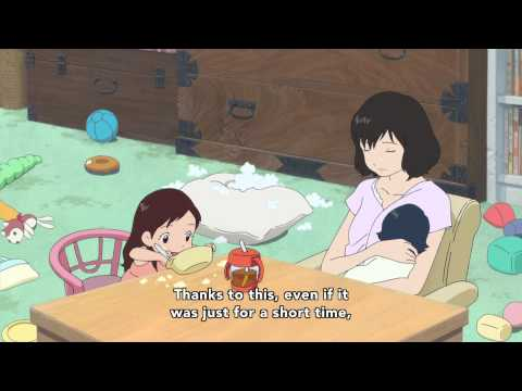 Wolf Children Official Clip - A Mother's Love (Japanese With English Subtitles)