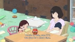 Wolf Children Official Clip - A Mother