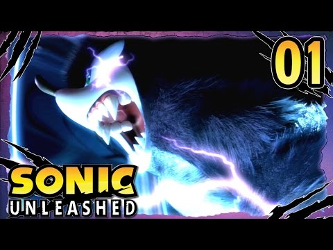 Sonic Unleashed (360/PS3) BLIND Part 1 - Unleash the Beast