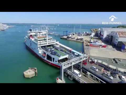 Red Funnel Terminal at East Cowes