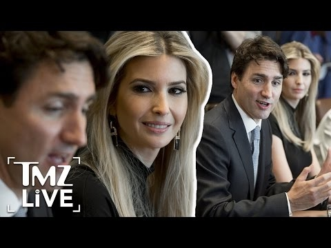 Ivanka Trump and Justin Trudeau Join Forces | TMZ Live