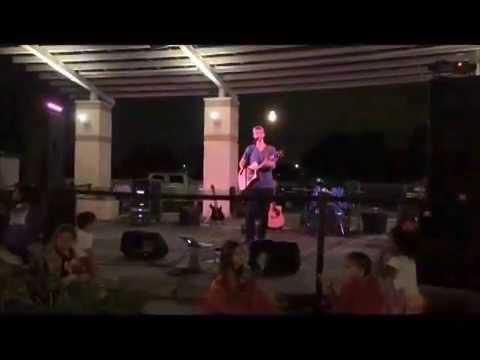 Grant Harrison singing