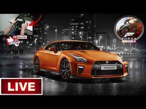 🔴LIVE🔴Nissan GTR🔴Forza Horizon 4 PC + Wheel , pedals and shifter🔴 thumbnail