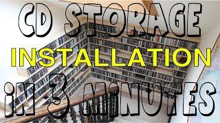 CD Storage Timelapse Hogan Joinery