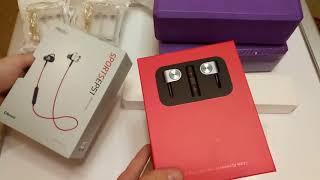 Распаковка Meizu EP51, Сетевик Xiaomi, гирлянда и кирпичи для йоги. GearBest. ZTD#308