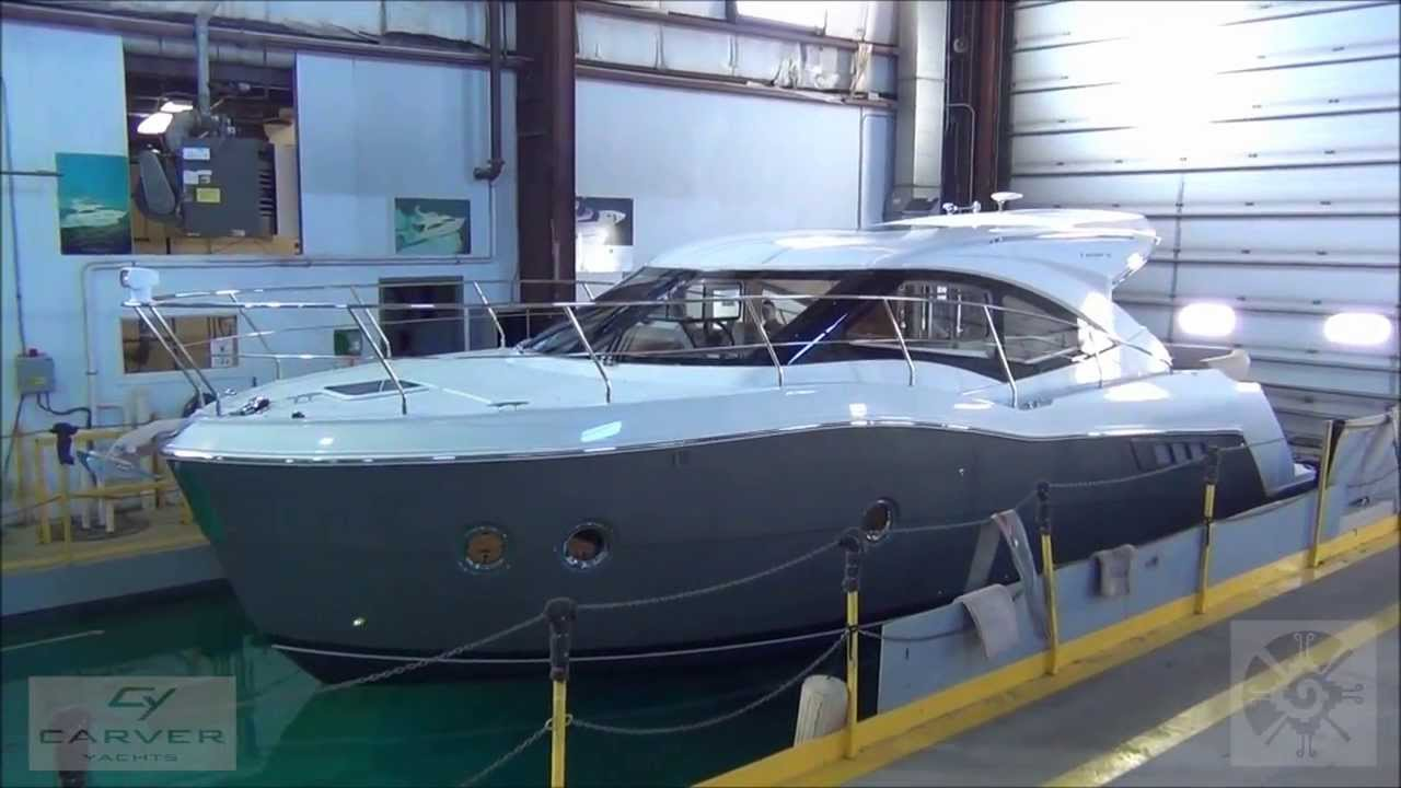 Carver C37 - final design inspection - YouTube