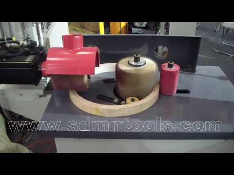 Wood round product polishing machine, wood circle polishing machine
