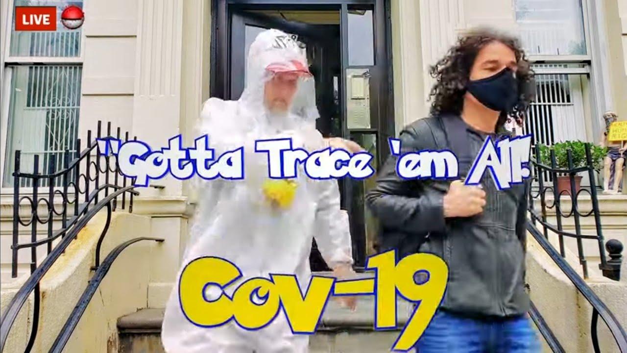 "COV-19 ""Gotta TRACE 'em All"" -  Pokemon Theme Song Parody by the OG Theme Song Singer Jason Paige"